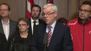 Greg Selinger says he's spoken to ministers who have called for him to step down