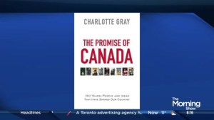 Award-winning writer celebrates Canada's 150 years