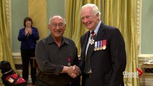 Man who fought polar bear awarded for courage