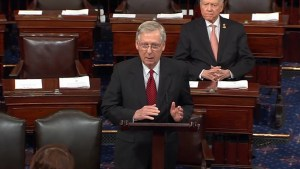 U.S. Senator McConnell comments on FBI Director Comey's dismissal