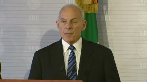 There will be 'no mass deportations,' says Department of Homeland Security John Kelly