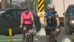 Helmets while biking