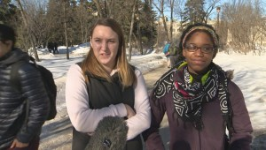 Students from University of Manitoba talk about safety issues