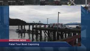 Tofino Mayor Josie Osborne discusses the sinking of the Leviathan II