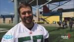 Rapid fire interview with Edmonton Eskimos David Beard