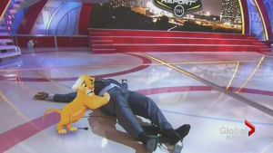 Shaq's big fall inspires internet memes