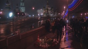 RAW: Flowers laid in tribute for Boris Nemtsov