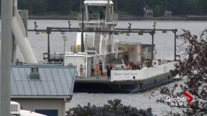 B.C.'s newest ferry breaks down, strands passengers, crew