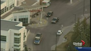Smash and grab suspect left at hospital