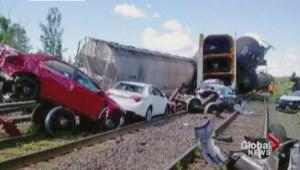 CN derailment causes Via Rail delays
