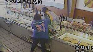 Teen girl throws haymakers to thwart Baskin Robbins robbery
