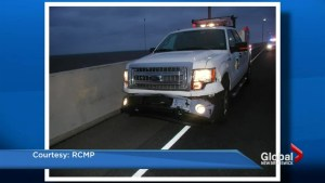 RCMP officer injured after being dragged on Confederation Bridge