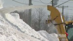 Snow removal will hurt municipal budgets