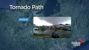 What caused tornado that hit Angus, Ont?