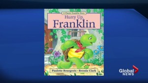 Franklin the turtle returns to bookshelves