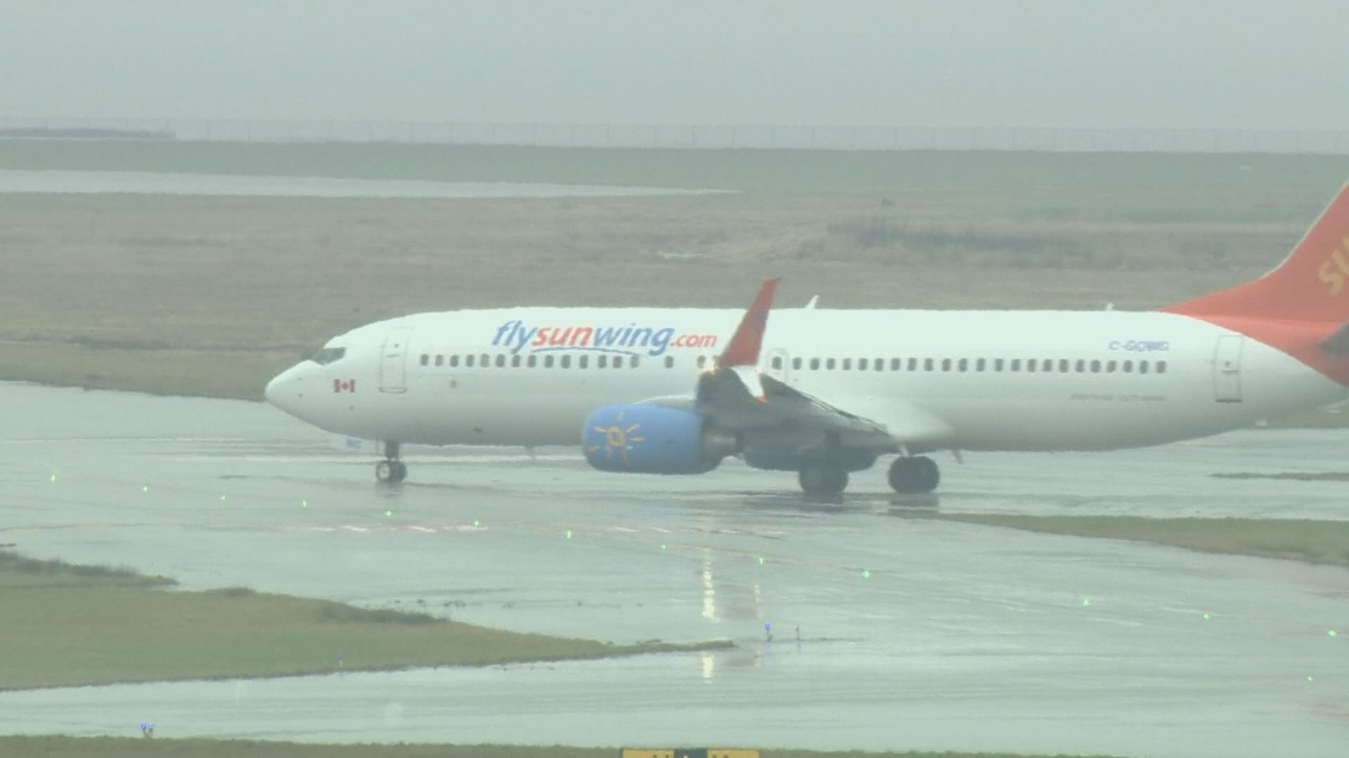 The Sunwing flight left for Cuba at 4.50am on Friday