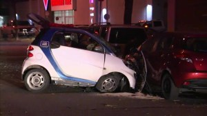 Dramatic Montreal North car chase ends in two arrests