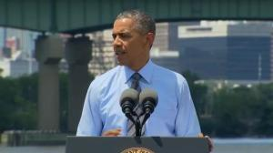 President Obama comments on 'terrible tragedy' of downed Malaysian airliner