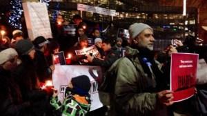 Candlelight vigil for Pakistani victims