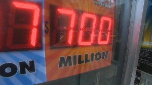 Powerball frenzy building ahead of draw for $700 million jackpot