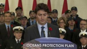 PM Justin Trudeau outlines Ocean Protection Plan measures