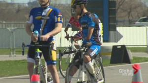 Paracyclists hit the road in Montreal