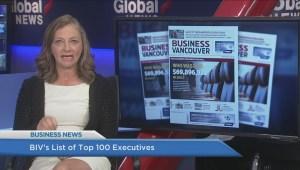 BIV: BIV's list of top 100 executives
