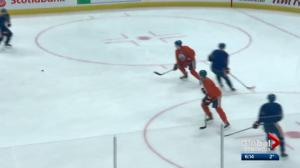Edmonton Oilers prepare to face the Anaheim Ducks