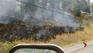 Wildfire in Rock Creek forces evacuation
