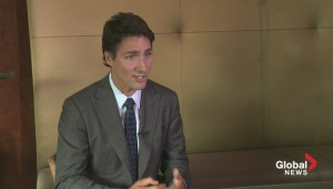 Exclusive: One-on-one with Justin Trudeau in Edmonton