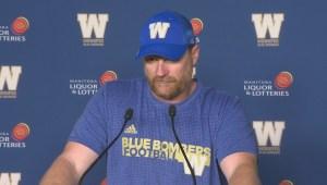 RAW: Winnipeg Blue Bombers Mike O'Shea postgame