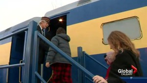 All aboard the southern Alberta Polar Express