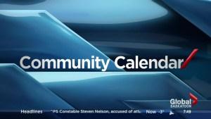 Saskatoon community calendar – Nov. 21