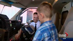 5 years later, family thanks paramedics for safe delivery