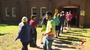 High turnout at advance polls with one week until election day
