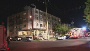 Fire forces residents out of Saint-Michel duplex