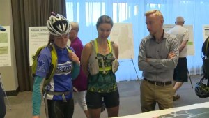 Cyclists spinning over plans for road to UBCO
