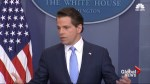 'The Mooch' was forced out after profane tirade that offended Donald Trump