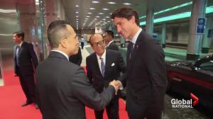 Trudeau wraps his first official trip to China as Prime Minister