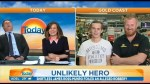 Two Australian men foil robbery, give memorable interview