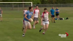 Irish residents in Calgary bond through their national sport Gaelic Football