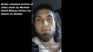 RCMP release unedited version of Michael Zehaf Bibeau's video message prior to attack on Ottawa