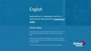 Not enough English information available in Vaudreuil-Dorion