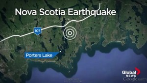 Small earthquake recorded east of Halifax
