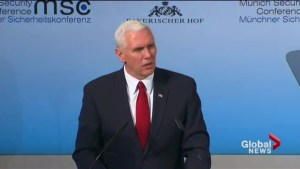 Mike Pence tells European leaders Trump administration maintains support for NATO