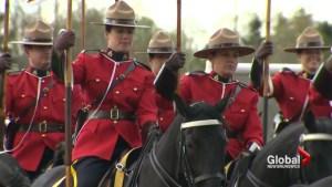 RCMP Musical ride preparing for emotional tribute