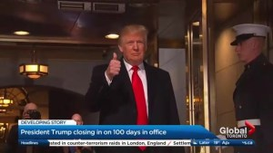 President Trump closes in on 100 days in office