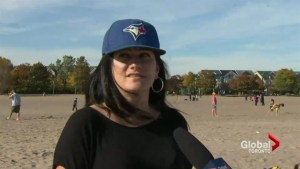 Temperatures make Thanksgiving long weekend feel like summer day