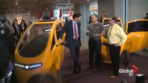 Trudeau discusses vision for a green Canada