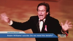 Do we need to know all the details about Robin Williams suicide?